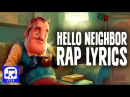"Hello Neighbor Rap LYRIC VIDEO by JT Music - ""Hello and Goodbye"""