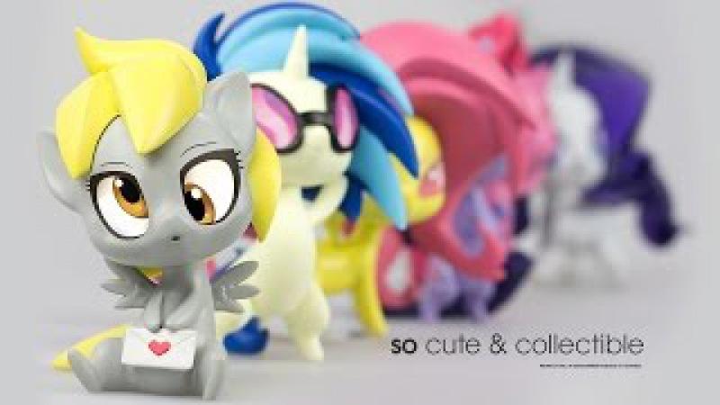 My Little Pony Chibi фигурки от компании WeLoveFine - Обзор на русском