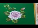 Pintar rosas grandes pintra multicarga para decorara un paraguas