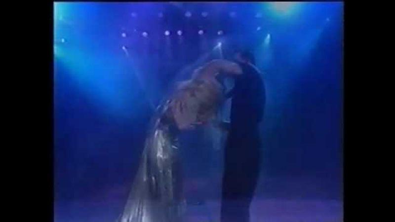 Patrick Swayze Wife Dancing At World Music Awards 1994