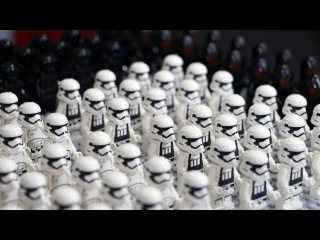 Building a LEGO Star Wars First Order Army
