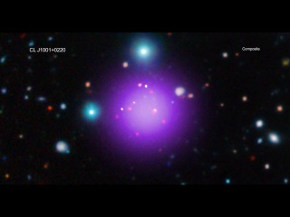 NASA Chandra Observatory : A tour Of J1001 - Galaxy Clusters in 4K