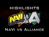 NaVi vs Alliance DreamLeague 2016 Highlights Dota 2