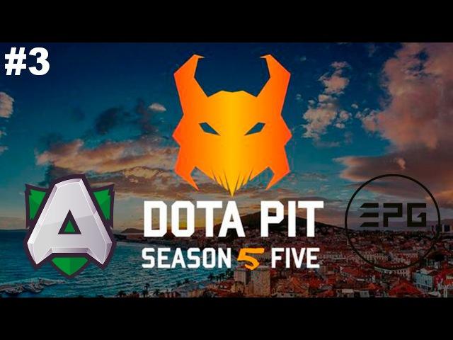 New Patch 7.00 The Alliance vs Elements 3 | DotaPit Season 5 Dota 2