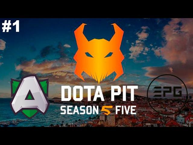 New Patch 7.00 The Alliance vs Elements 1 | DotaPit Season 5 Dota 2