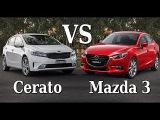 2017 Kia Cerato (Forte) Vs 2017 Mazda 3 Interior Exterior Test Drive