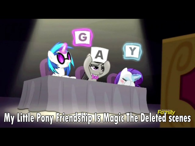 My Little Pony Friendship Is Magic The Deleted scenes