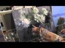 букет цветов, цветы маслом, живопись для начинающих, уроки рисования, Сахаров