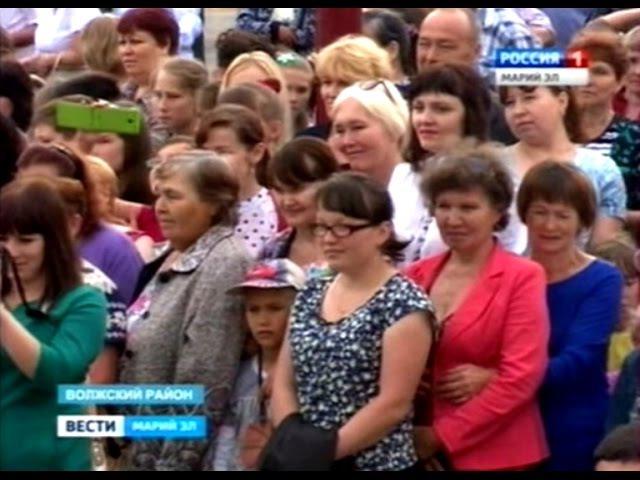 Леонид Маркелов посетил поселок Приволжсикй (04.06.2015)