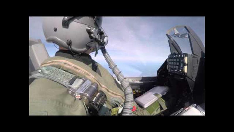 NATO hävitajad Eesti pilvede vahel