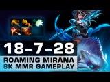 Roaming Mirana 6k MMR gameplay by NS