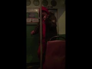 Живая музыка в транспорте. Пермь 18.11.2016