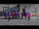 Флешмоб пед.коллектива на День Здоровья 2016 в ОШ - ст. п.Садовое