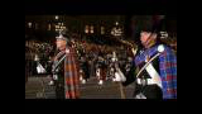 Red Square Parade- Scottish Bagpiper's Corps(Part 2)