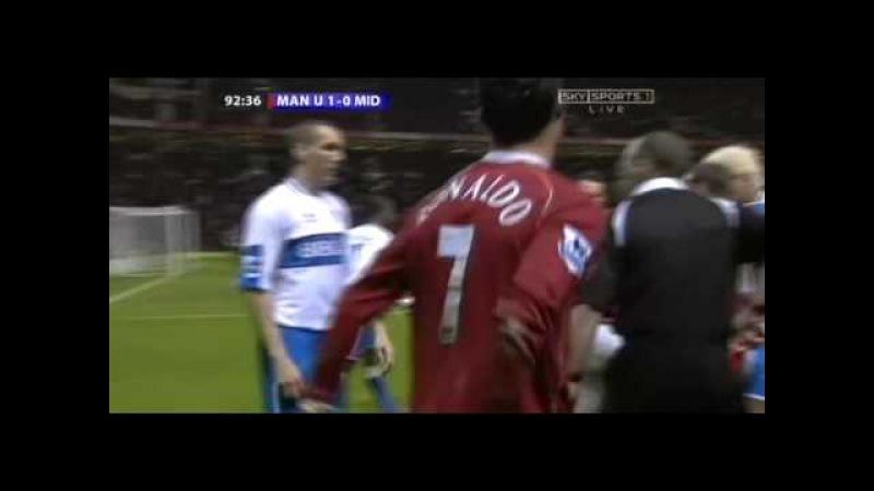 C. Ronaldo taken out by Morrison