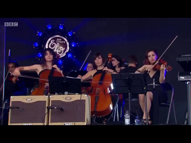 Roll Over Beethoven Jeff Lynnes ELO Live with Rosie Langley and Amy Langley, Glastonbury 2016