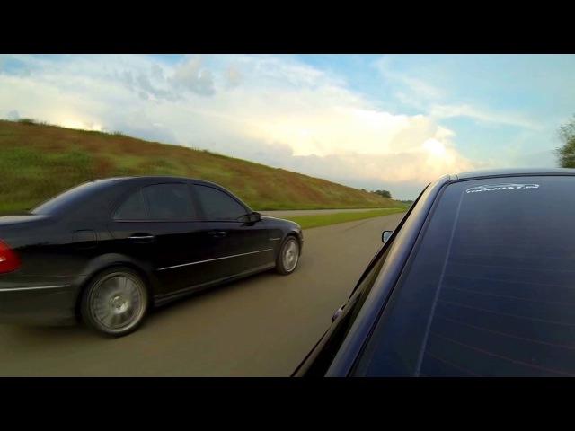 BMW e46 330d vs Mercedes w211 5.5 AMG
