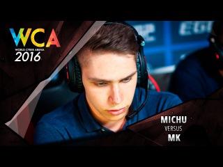 WCA 2016 EU Main Qualifier: MICHU vs. MK
