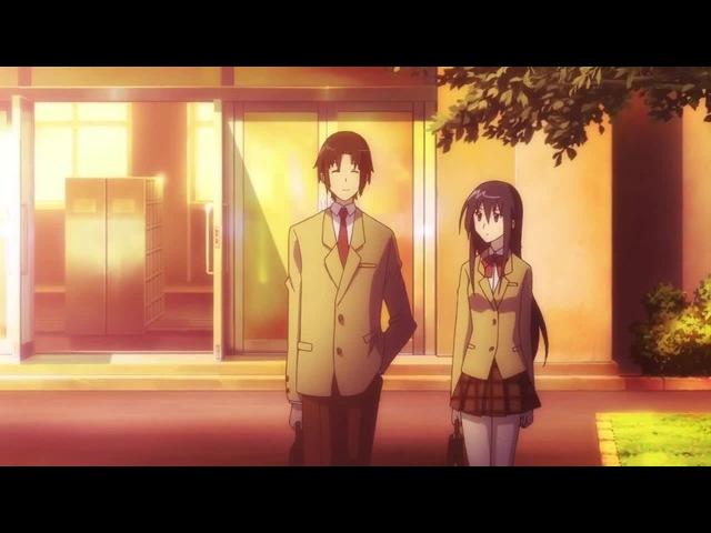Seitokai yakuindomo Takatoshi такой тяжёлый день выдался, только и делал, что стоял.