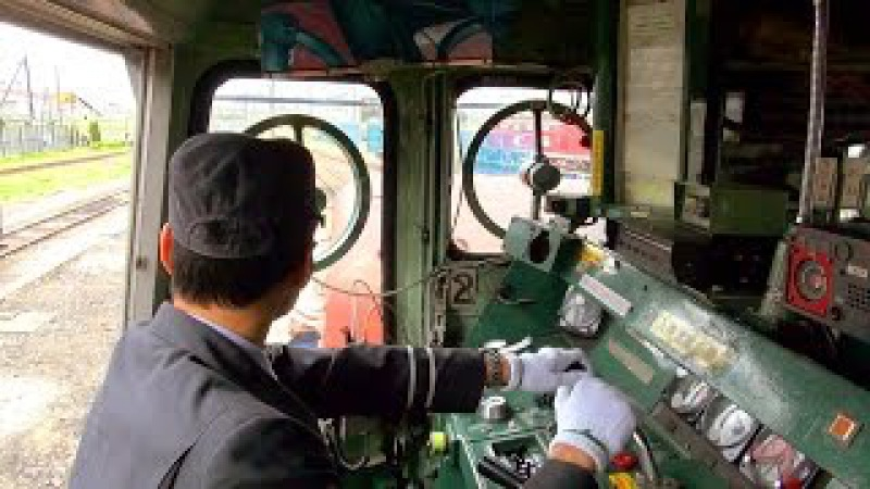 Cab Ride on Japanese Diesel Locomotive JR Freight Class DE10