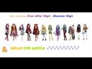 Кукляхи от Жень-ка- обзор кукол 27-Monster High Твилабазовая,13 желаний