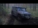 Мерседес Гелендваген на 39 колесах и УАЗ 469 на 35 на бездорожье