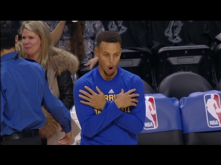 Stephen Curry Imitates Other Sports in Toronto!