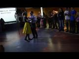 Наш зажигательный танец!!! Свинг. Комсомолец 2015
