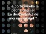 Garou, Daniel Lavoie, Patrick Fiori - Belle (parole)