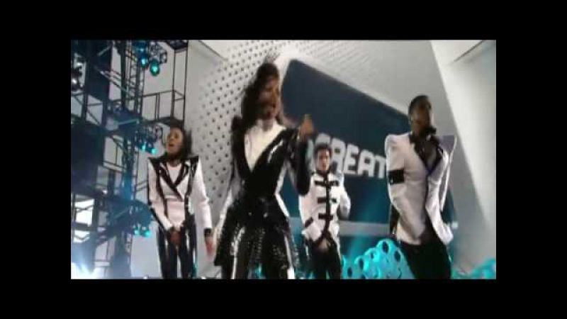 Michael Jackson HD 3D Galaxy Awards Tribute Janet Jackson Scream Beyonce Halo Celine Dion Earth Song