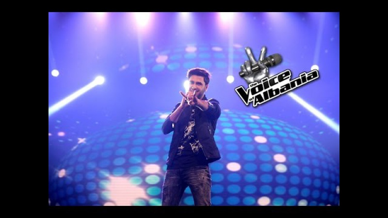 Lorenc Hasrama - Don't you worry child (The Voice of Albania 5   Netet Live 3)