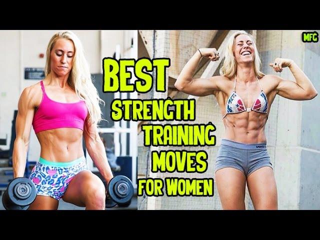 HAYLEE VARNER - Pro Natural Figure: Best Strength-Training Moves For Women @ USA