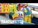 Eddie the Eagle Hugh Jackman and Taron Eggerton Danmark