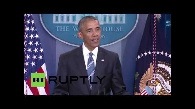 США: Обама взрывает Республиканцев за препятствование Верховный Суд после того, как законопроект неудачу.