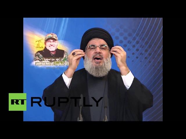 Ливан: 1000с, отправляемые из Турции, чтобы бороться в Алеппо - Насраллы Хезболлы.