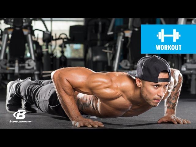 400-Rep Juggernaut Circuit Workout | Mike Vazquez » Freewka.com - Смотреть онлайн в хорощем качестве