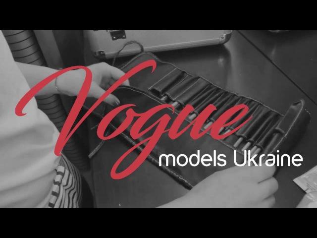 Vogue Models Kharkov Backstage Photosession for Dasha