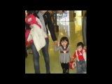 Кайрат Нуртас показал детей и жену