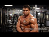 Mike Toscano Trains Upper Body Days After His Overall Win at the 2015 NPC Buffalo