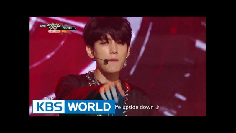 EXO - Monster [Music Bank HOT Stage / 2016.06.17]