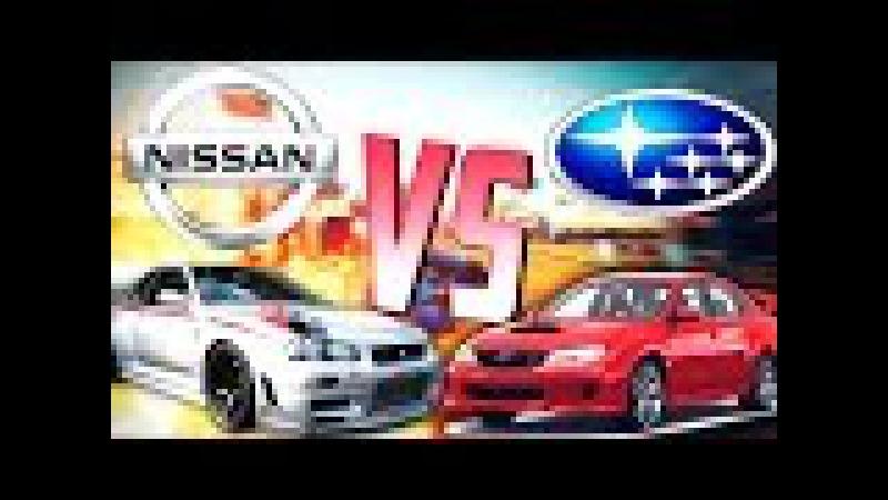 GTA Online Моды: SUBARU WRX STI и NISSAN GT-R R34 - Настоящие машины!