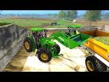 Мультик про работу трактора Джон Дир. Развивающий мультфильм для детей.