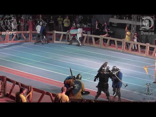 ДИНАМО 2016 1/8 Ф 6fight Твёрдыет Дубы vs Сябры