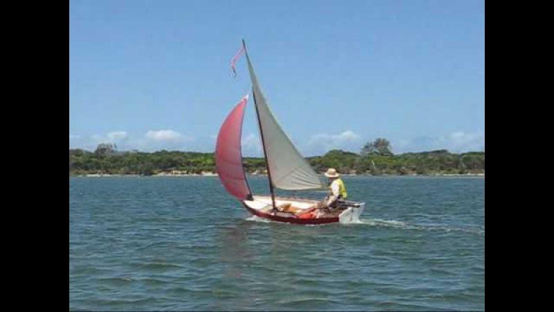 Wooden skiff