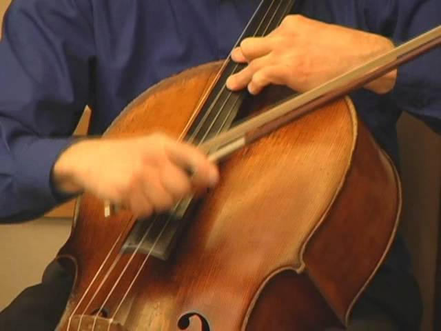Deep Woods Blues, for solo cello Lawrence Zoernig, 2010.wmv
