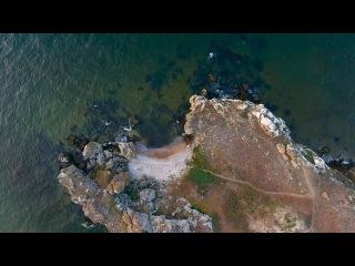 Крым 4K: Генеральские пляжи (часть 3). Коровья бухта, раскопки