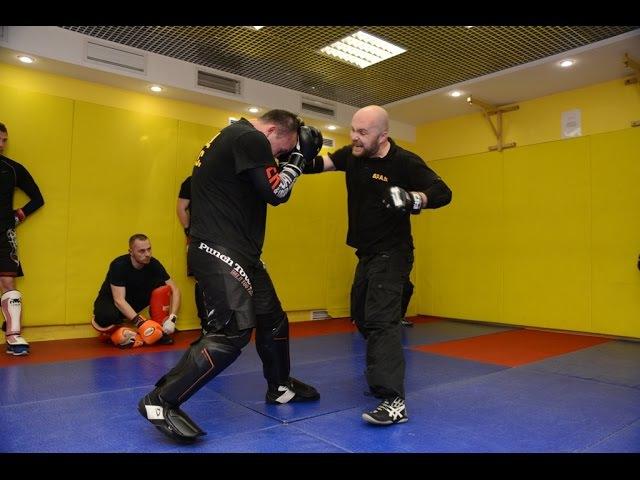 Упражнения для трех дистанций рукопашного боя S.P.A.S. (street fighting S.P.A.S.)