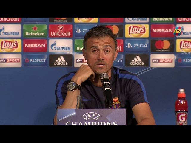 Luis Enrique Borussia are a fearsome team at home""