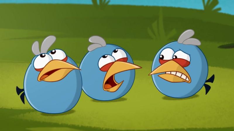 Энгри Бердс 3 сезон все серии подряд _ Злые птички _ Angry birds Toons