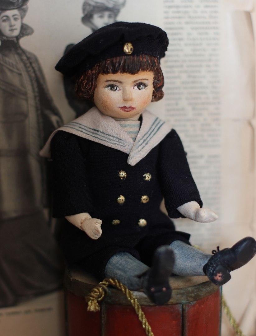 схема для куклы из пластики